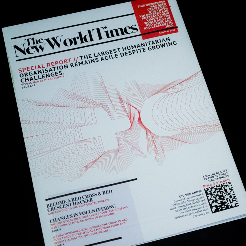 The New World Times newspaper